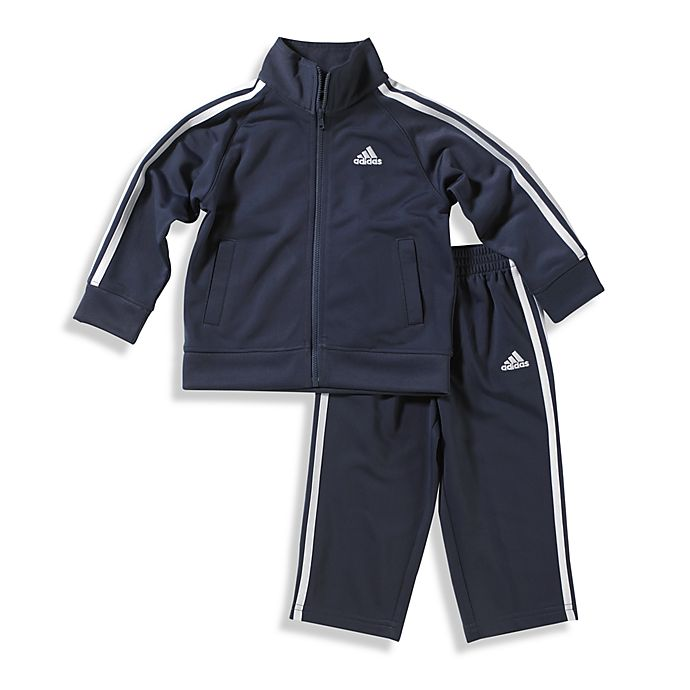 38a2f9466 adidas® Kids Boy s Tricot Tracksuit in Navy