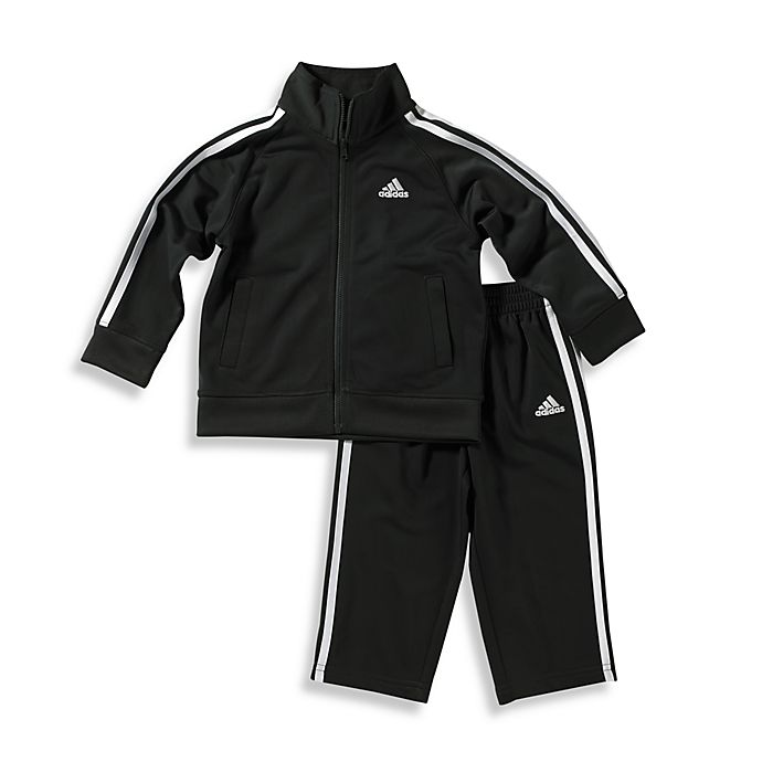 Alternate image 1 for adidas® Kids Boy's Tricot Tracksuit Set