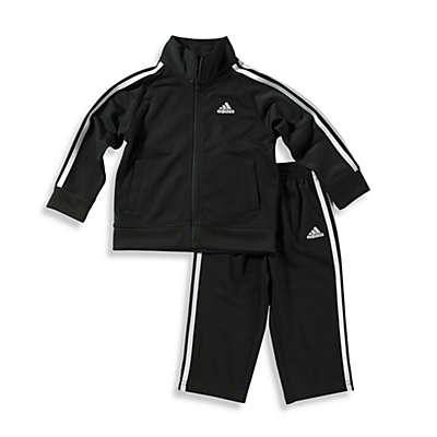 adidas® Kids Boy's Tricot Tracksuit Set