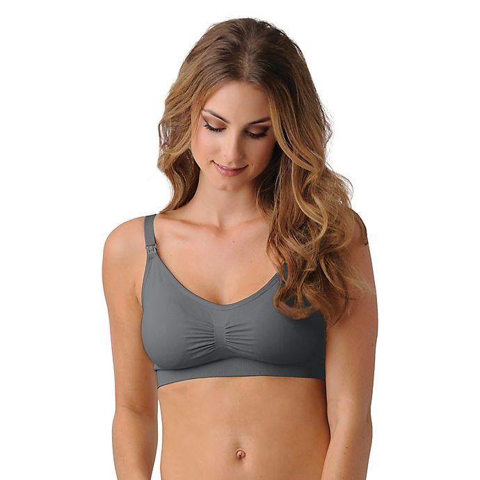 96baa6d826 Belly Brandit® Nursing Bra with Pads in Grey