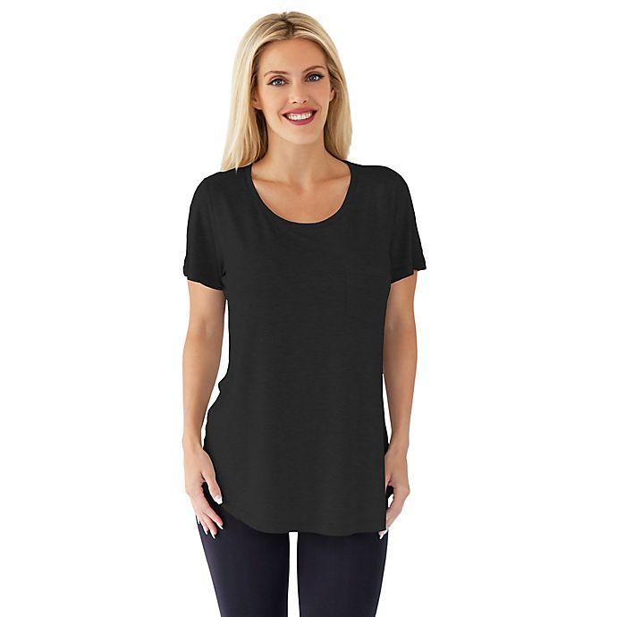Alternate image 1 for Belly Brandit® Perfect Nursing T-Shirt in Black