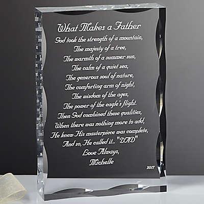 My Father Poem Keepsake