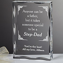 A Special Step-Dad Keepsake