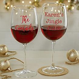 Christmas Celebrations 9.52 oz. Wine Glass
