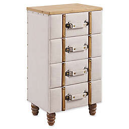 Linon Home Sarah Padded Chest Cabinet