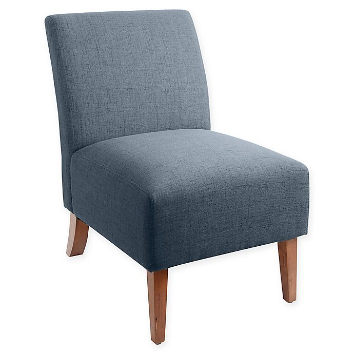 Alternate image 1 for Silverwood Addison Armless Upholstered Accent Slipper Chair