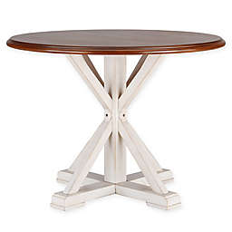 Southern Enterprises Barrisdale Farmhouse Dining Table