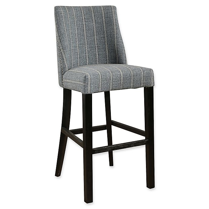 Abbyson Living 174 Claire Pinstripe Stool Bed Bath Amp Beyond