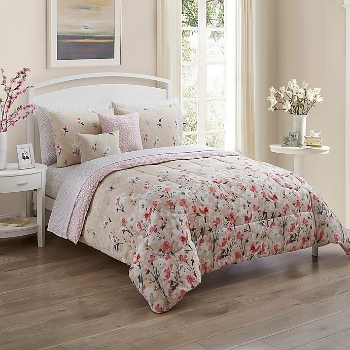 Alternate image 1 for Rose Garden Comforter Set