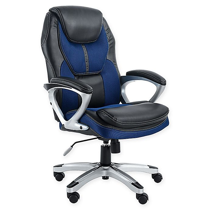 Terrific Serta Works Office Chair Bed Bath Beyond Interior Design Ideas Tzicisoteloinfo