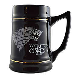 Game of Thrones Stark Direwolf Sigil Ceramic Stein