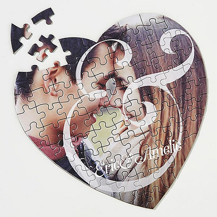 Alternate image 1 for You & I 75-Piece Photo Heart Puzzle