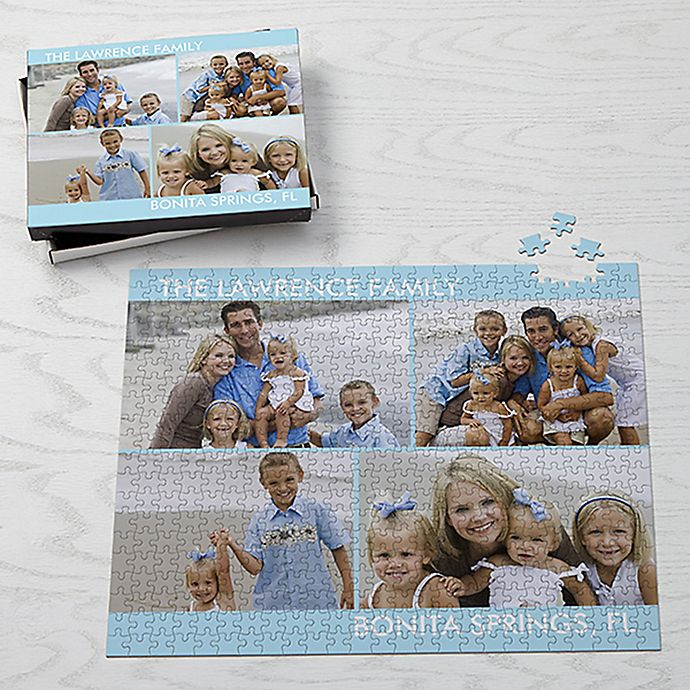 Alternate image 1 for Picture Perfect Jumbo 500-Piece Photo Puzzle