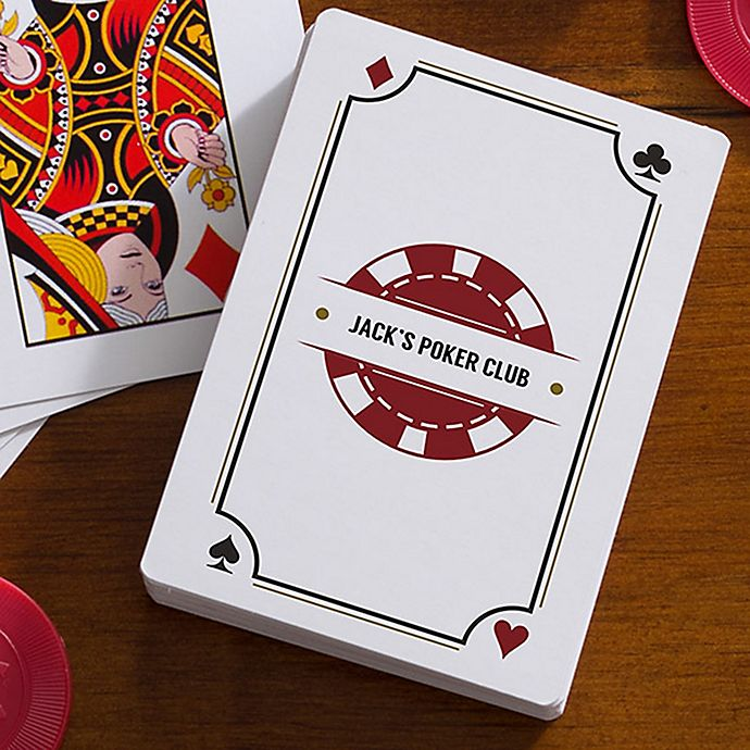 Alternate image 1 for Poker Night 54-Count Playing Cards