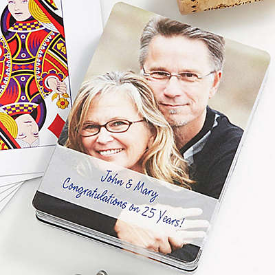 Our Anniversary 54-Count Photo Playing Cards