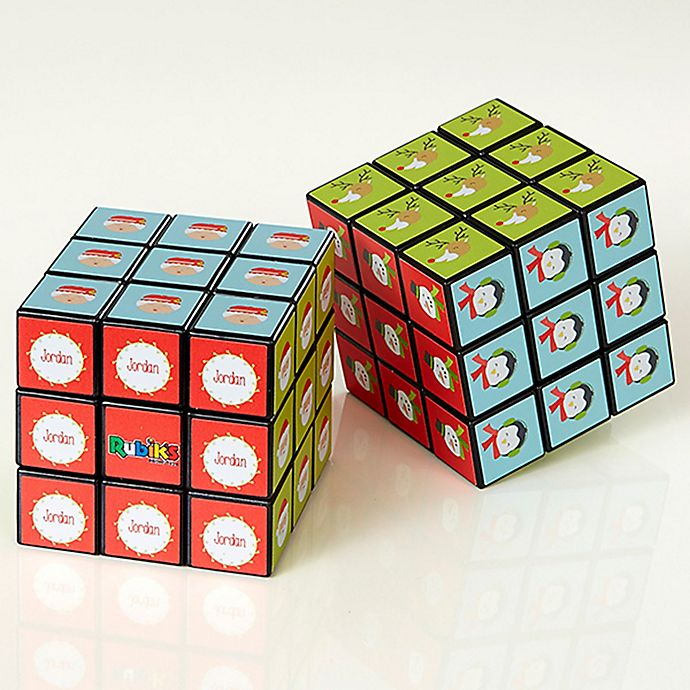 Alternate image 1 for Christmas Characters Rubik's® Cube