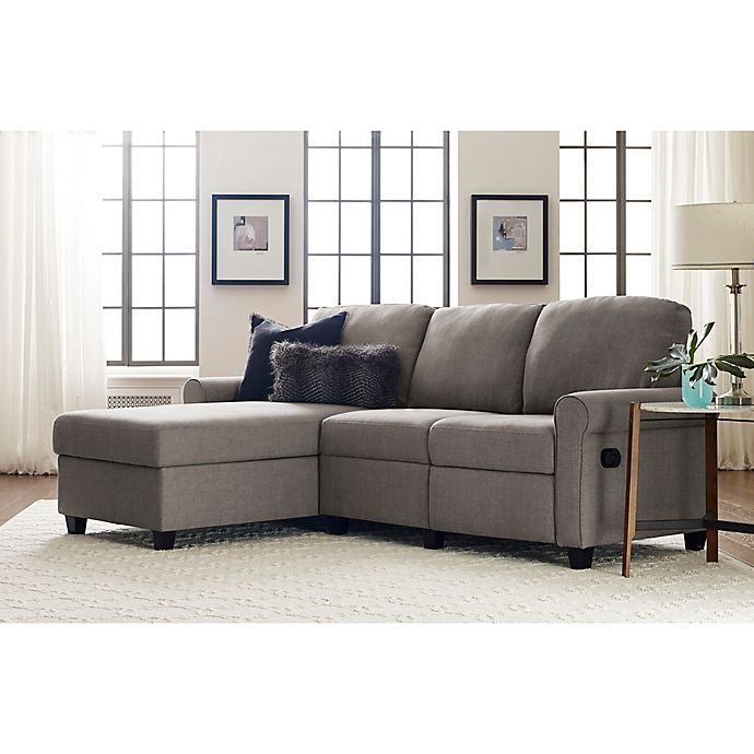 Serta Copenhagen Reclining Sectional Sofa With Storage Collection View A Larger Version Of This Product Image