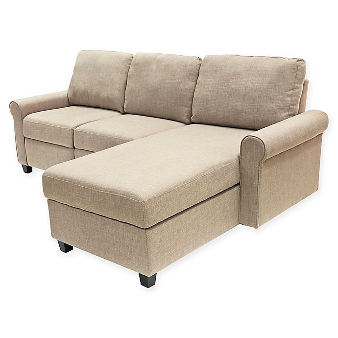 Serta 174 Copenhagen Right Facing Reclining Sectional Sofa
