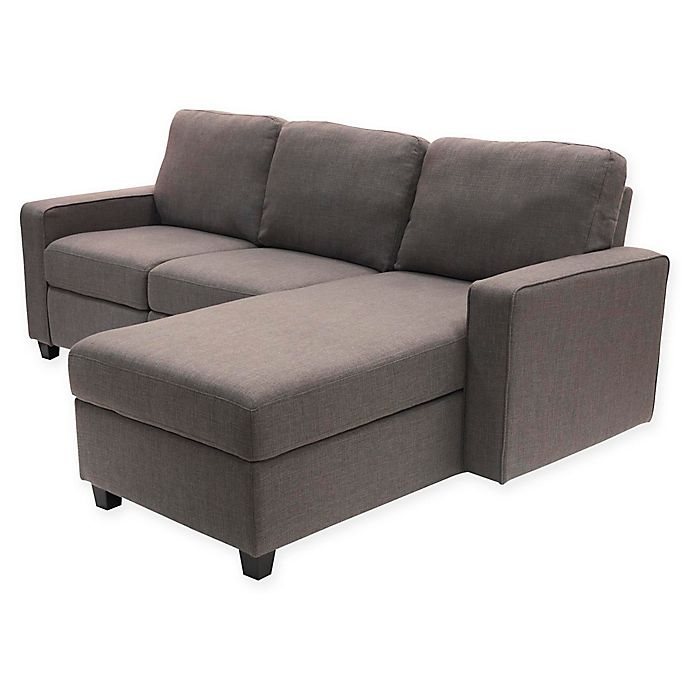 Admirable Serta Palisades Right Facing Reclining Sectional Sofa With Ibusinesslaw Wood Chair Design Ideas Ibusinesslaworg