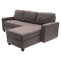 Serta Palisades Right Facing Reclining Sectional Sofa With Storage