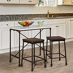 Hillsdale Furniture Castille Counter Height Table Collection in Black