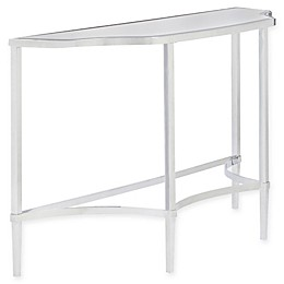 Madison Park Signature Triton Console Table in Silver