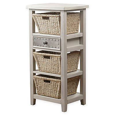 Hillsdale Furniture Tuscan Retreat™ 3-Basket Storage Stand