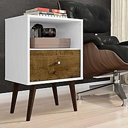 Manhattan Comfort Liberty Modern Nightstand 1.0