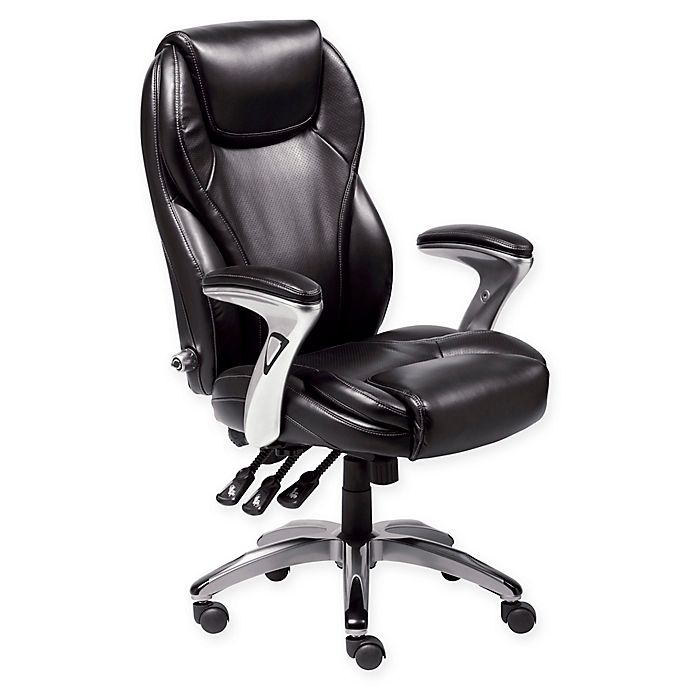 Alternate image 1 for Serta® Adjustable Office Chair in Black