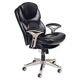 Serta® Wellness by Design™ Mid-Back Leather Office Chair