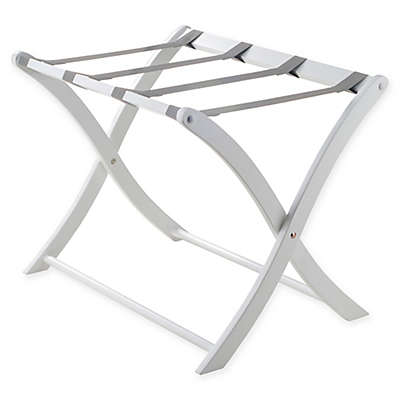 Winsome Trading Luggage Rack in White