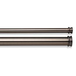 Cambria® Premier Complete Double Drapery Rod in Oil Rubbed Bronze