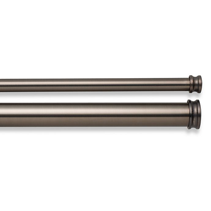 Alternate image 1 for Cambria® Premier Complete Double Drapery Rod in Oil Rubbed Bronze