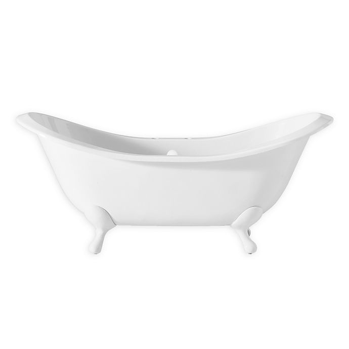 Alternate image 1 for Cheviot Regency 61-Inch Cast Iron Bathtub with Feet