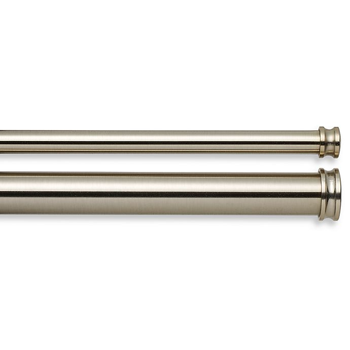 Alternate image 1 for Cambria® Complete Brass Double Rod