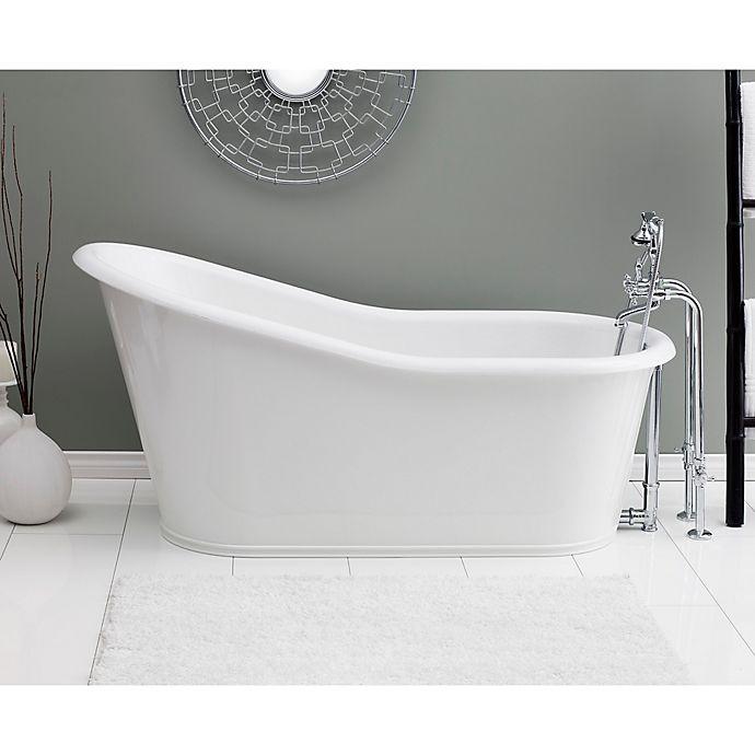 Alternate image 1 for Cheviot Dakota 68-Inch Cast Iron Bathtub in White