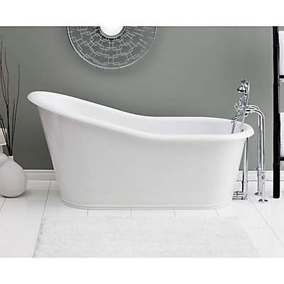 Cheviot Dakota 68-Inch Cast Iron Bathtub in White