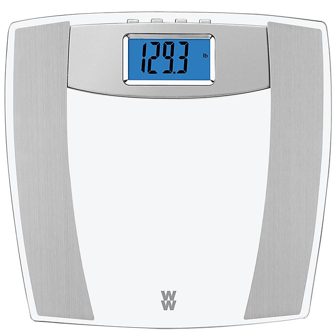 Alternate image 1 for Weight Watchers® by Conair™ Body Analysis Glass Bathroom Scale