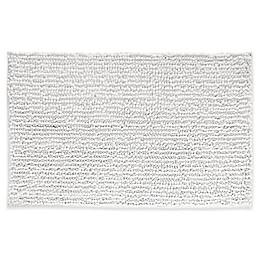 iDesign® 30-Inch x 20-Inch Microfiber Frizz Bath Rug