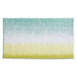 iDesign® 34-Inch x 21-Inch Microfiber Ombre Bath Rug