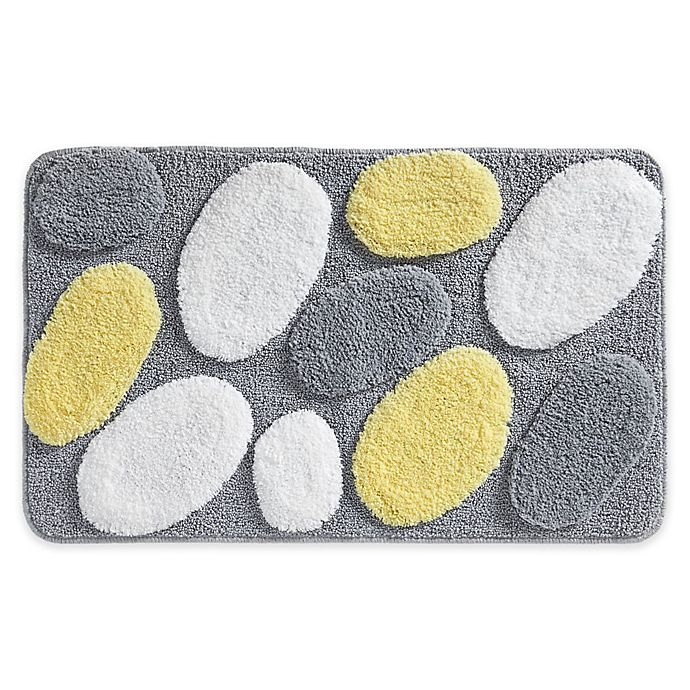 Microfiber Towels Bed Bath And Beyond: IDesign® 34-Inch X 21-Inch Microfiber Pebblz Bath Rug