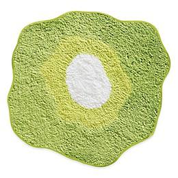 iDesign® 26-Inch Round Poppy Floral Bath Rug