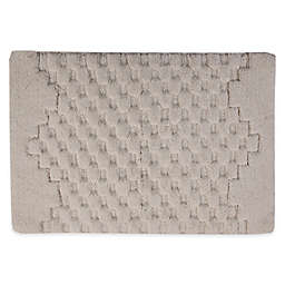 "Melange 21"" x 34"" Bath Rug in Ivory"