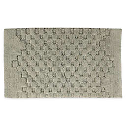 "Melange 21"" x 34"" Bath Rug in Light Sage"