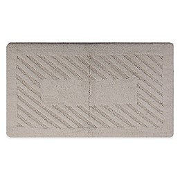 Diagonal Racetrack Bath Mat