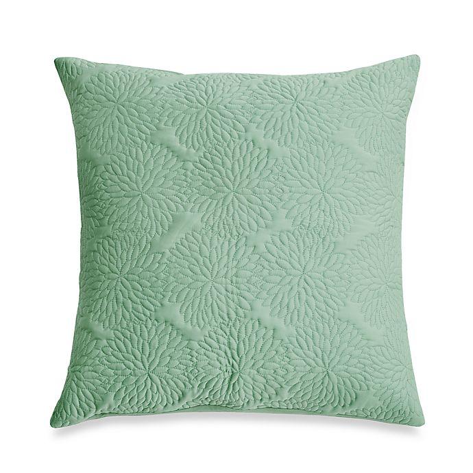 Prime Dkny Chrysanthemum Seafoam European Sham Bed Bath Beyond Creativecarmelina Interior Chair Design Creativecarmelinacom