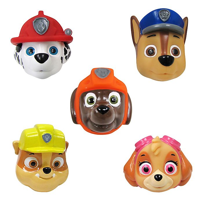 Alternate image 1 for Nickelodeon™ 5-Pack PAW Patrol Squirters