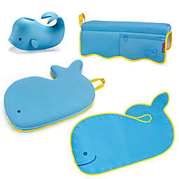SKIP*HOP® Moby 4-Piece Bathtime Essentials Kit in Blue