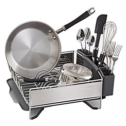 KitchenAid® Compact Stainless Steel Dish Rack