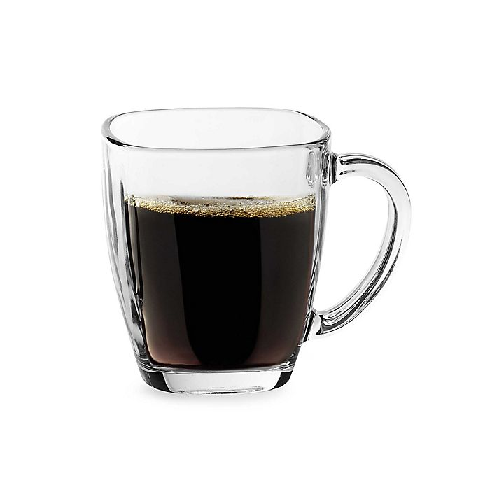Alternate image 1 for Libbey® Tempo Square Glass 14 oz. Mug